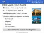 civil training services market presence