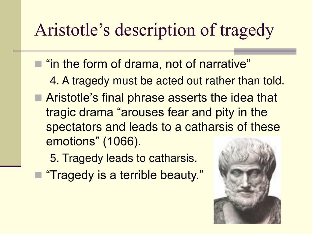 aristotle tragedy antigone essays