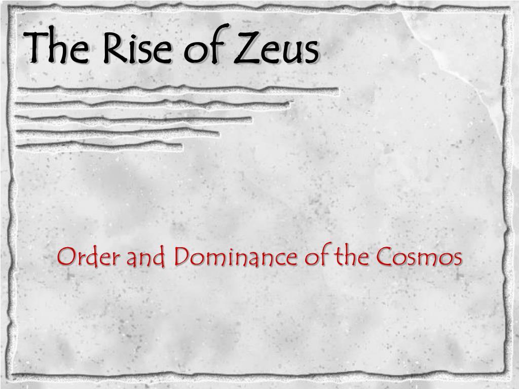 the rise of zeus l.