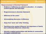 responsiveness to diversity framework