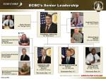 ecbc s senior leadership