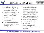 leadership keys