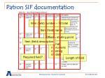 patron sif documentation9