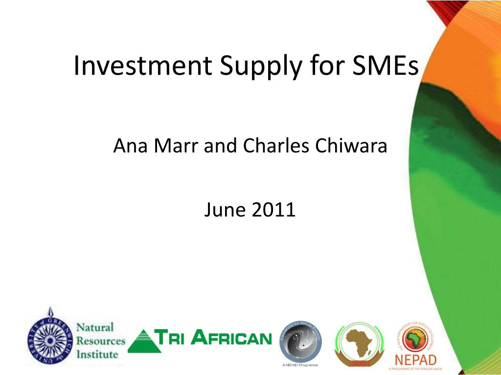 investment supply for smes l.
