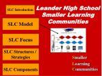 leander high school smaller learning communities8