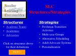 slc structures strategies