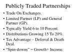 publicly traded partnerships22
