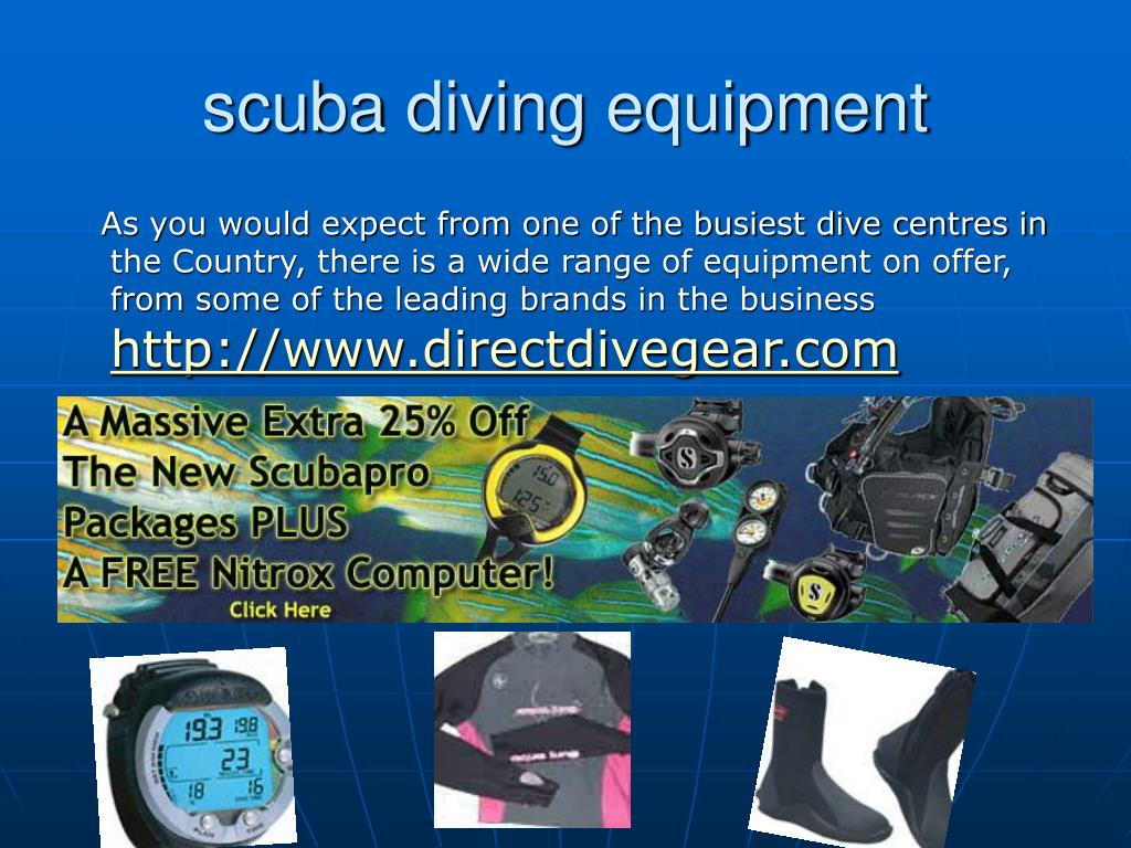 scuba diving equipment l.