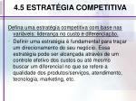 4 5 estrat gia competitiva
