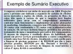 exemplo de sum rio executivo1