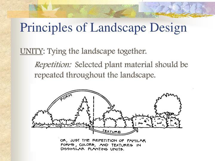 PPT - Principles of Landscape Design PowerPoint Presentation - ID186516