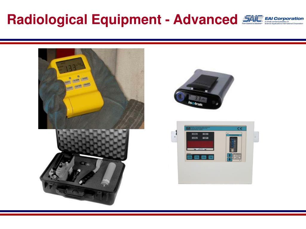 radiological equipment advanced l.
