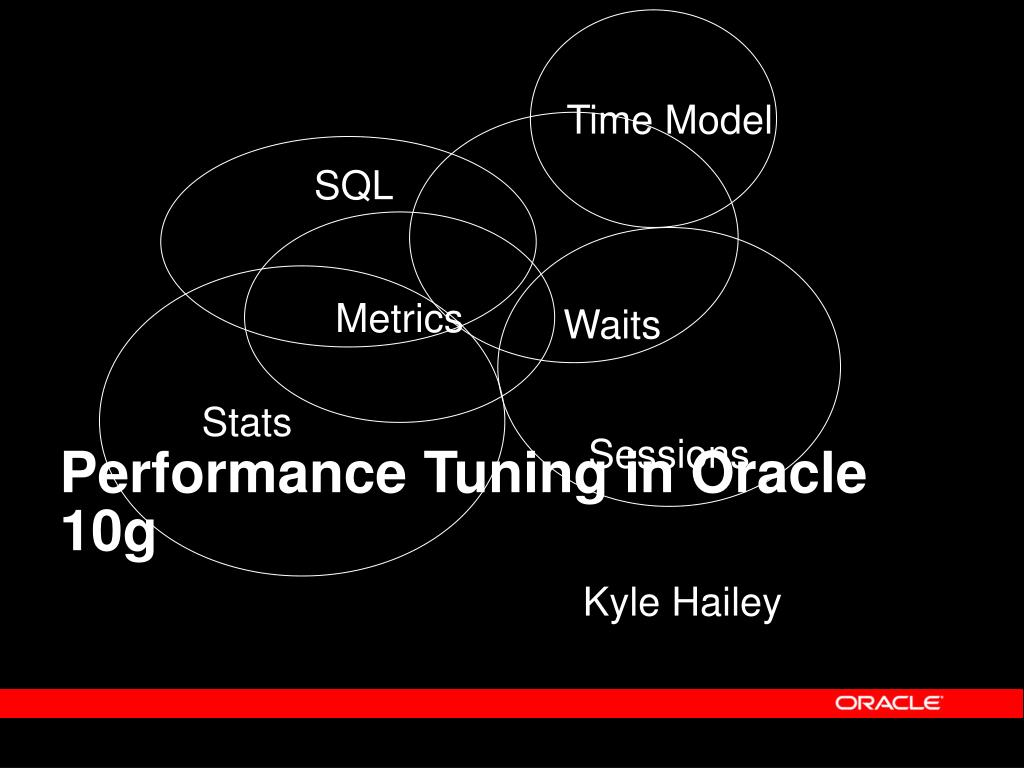 performance tuning in oracle 10g l.