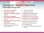 emergency support functions7