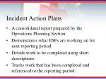 incident action plans