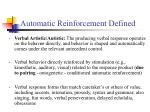 automatic reinforcement defined17