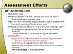 assessment efforts24