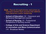 recruiting 1