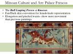 minoan culture and art palace frescos