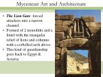 mycenean art and architecture29