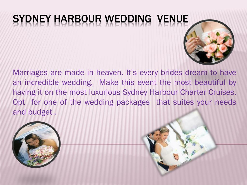 sydney harbour wedding venue l.