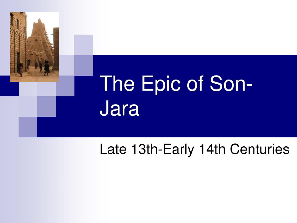 the epic of son jara l.