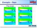 exemplo flaps