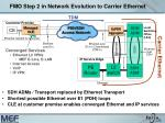 fmo step 2 in network evolution to carrier ethernet