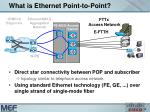 what is ethernet point to point