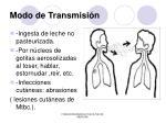 modo de transmisi n