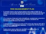 risk maanagement plan