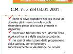 c m n 2 del 03 01 200167