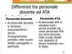 differenze tra personale docente ed ata69