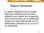 ragioni strutturali