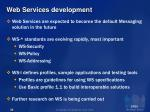 web services development