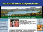 vermont northeast kingdom project