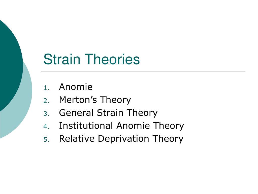strain theories l.