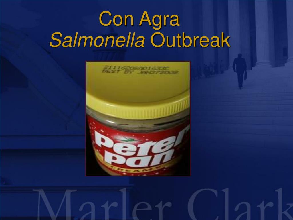 con agra salmonella outbreak l.
