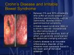 crohn s disease and irritable bowel syndrome