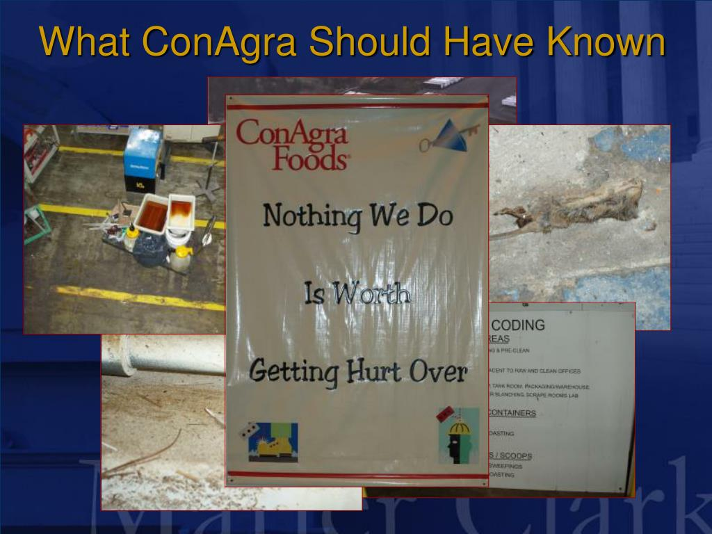 What ConAgra Should Have Known