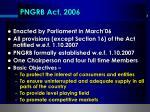 pngrb act 2006