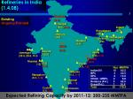 refineries in india 1 4 08