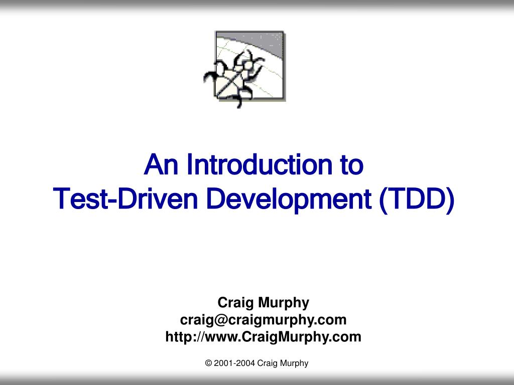 an introduction to test driven development tdd l.