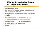 mining association rules in large databases26