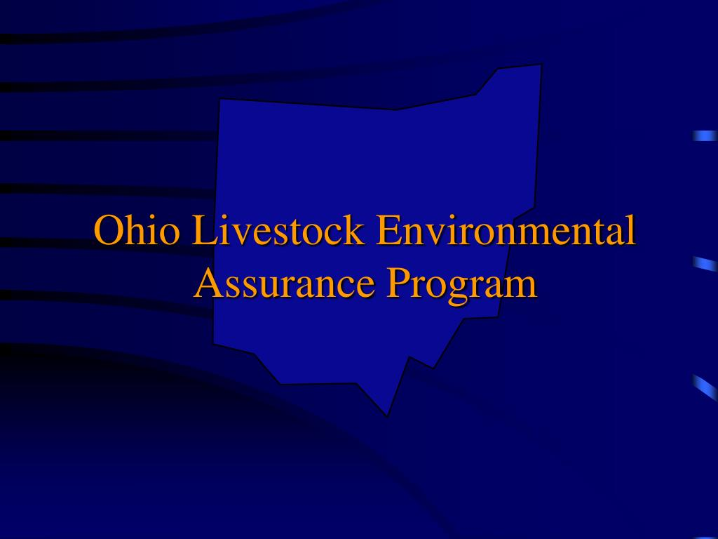 ohio livestock environmental assurance program l.