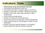 indicators state