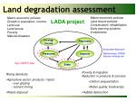 land degradation assessment
