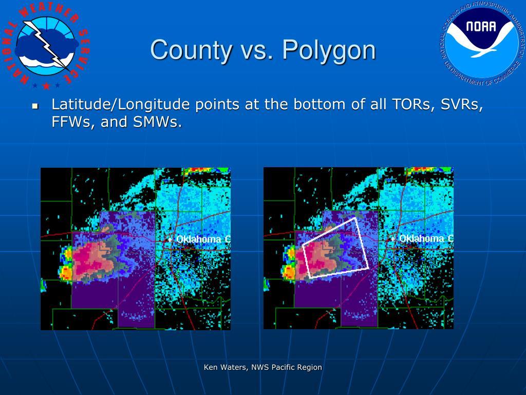 County vs. Polygon