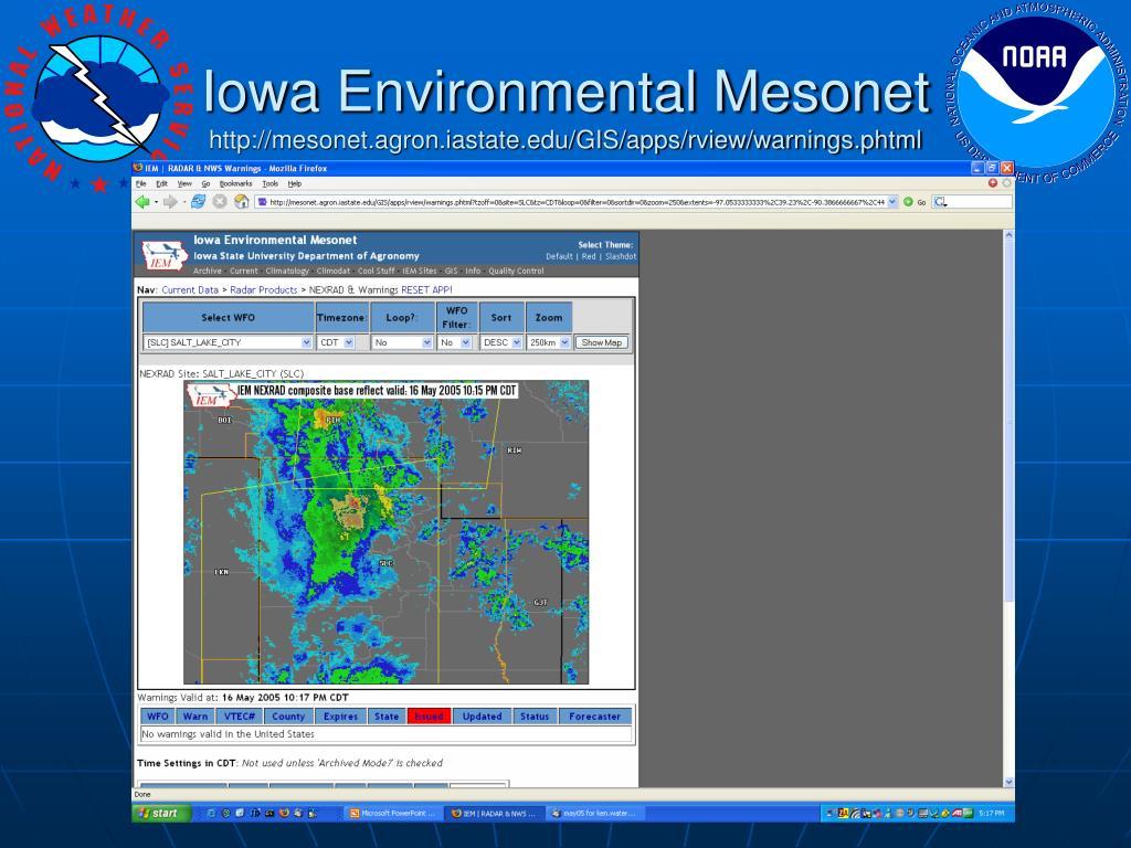 Iowa Environmental Mesonet