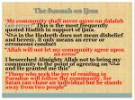 the sunnah on ijma